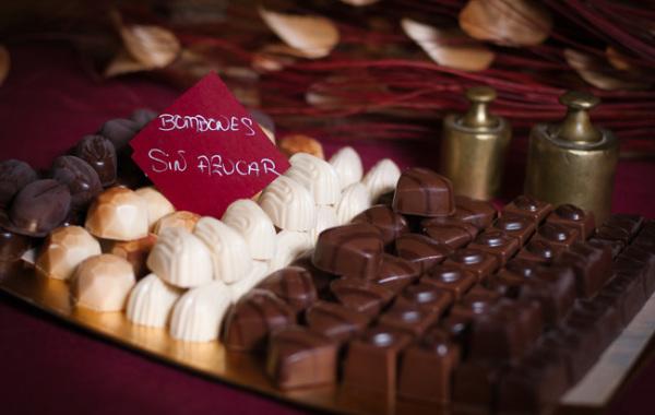 Bombones de Chocolate sin Azúcar